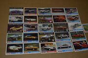 ★★lot Of 26-1979-86 Ford Mustang Promo Collector Trading Cards-gt Lx 5.0 Saac