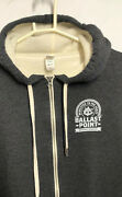Ballast Point Brewery Hooded Sweater Size Xl Victory At Sea Day + 2 Pint Glasses