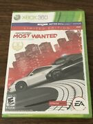 New Sealed Need For Speed Most Wanted Limited Edition Xbox 360