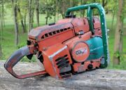 Vintage Homelite Xp1130 Chainsaw 100cc Gear Drive Muscle Saw