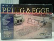 Pola Lgb 1853 G-scale Plow And Harrow Pflug And Egge Brand-new In Sealed Package