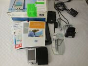Hp Ipaq H2215 Pocket Pc Pda Accessories And Charger Complete