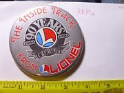 Toy Train Society Pin Lionel Member Crew Yard Station Depot Logo Inside Track Aa