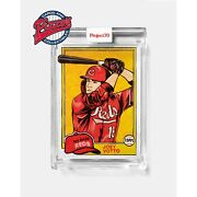 Topps Project70 Card 563 - 1981 Joey Votto By Blake Jamieson Presale