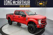 2021 Ford F-250 Sca Black Widow Lifted Crew 4x4 7.3l 6 Inch Suspension Lift Custom Leather Seats Value Package