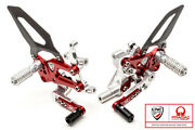 Adjustable Rearsets Pramac Limited Edt Cnc Racing Ducati Panigale 1299 S 15-17
