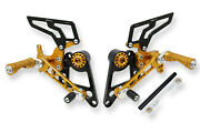Adjustable Rearsets Single Seat Cnc Racing Gold Ducati Monster 1100 S 2009-10
