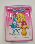 Tara Toy Corp 80s Fashion Doll Trunk Only 3d Design Holds Barbie Jem Maxie Dolls