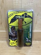Duck Commander - Wooden - Double Reed Call -classic Commander Phil Robertson