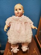 Vintage Gerber Baby Doll With Chair