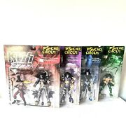 1998 Mcfarlane Toys Kiss Psycho Circus Set Of 4 Ultra Action Figures Sealed