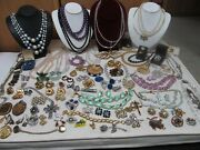 Large Lot Of Costume Jewelry Over 100 Pieces