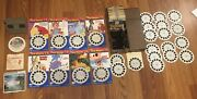 Huge Lot View-master.viewers. Case. Lots Of Disney. Travel. 3 Little Pigs. Sambo
