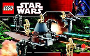 New 7654 Lego Star Wars Droids Battle Pack / Sealed Box Box Has Small Crease