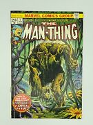 The Man-thing 1 Marvel 1974 Steve Gerber 2nd Appearance Of Howard The Duck