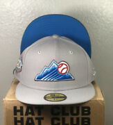 Hat Club Exclusive Colorado Rockies Beer Pack Coors Light Size 7 5/8 Rare
