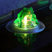 1 Pc Solar Floating Light Outdoor Color Changing Pond Lights For Swimming Pool