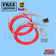 Spark Plug Wire Set Msd For Ford Falcon 64-1968