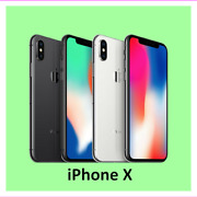 Apple Iphone X 64gb 256gb Gsm Factory Fully Unlocked Cell Phone Very Good