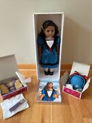Retired American Girl Doll Cecile African American With Book 2013