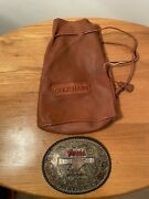 Patsy Bruce Estate Coors Chute Out Prorodeo 1/10 10k Sterling Gist Belt Buckle