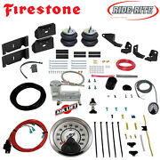 Firestone Ride Rite Air Bags Airlift Hd Compressor For 17-22 Ford F250 F350 2wd