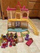 Disney Sofia The First Talking Castle And Doll Playset Lot 2012 See Pics