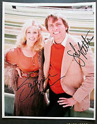 John Ritter ,suzanne Somers Three,s Company Orig,hand Sign Autographs