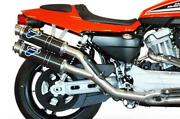 Complete Exhaust Termignoni Racing Round Carbon Harley Davidson Xr 1200 R