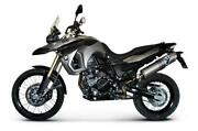 Exhaust Silencer Termignoni Approved Carboon Look Oval Bmw F 800 Gs 2012 12