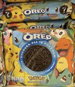 2xnew Nabisco Oreo Pokemon Creme Cookies Limited Edition Free Shipping. In Hand