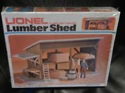 O Scale Lionel 6-81629 Lumber Shed Kit New In Box