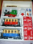 Lgb Trains 72302 G Scale Passenger Starter Set With Light, Sound And Smoke Never