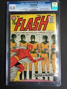 Flash 105 1st Issue In His Own Title And 1st Mirror Master Cgc 4.0 0261965009