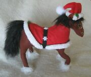 2016 Annalee Christmas 10 And039snowflake Clydesdaleand039 Horse Nwt