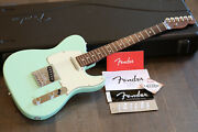 Minty Fender Limited Edition American Standard Telecaster Surf Green + Ohsc
