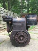 Vintage Briggs And Stratton Model 23 9hp Engine Motor Power King Simplicity Etc.