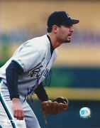 Mike Lowell Autographed 8x10 Florida Marlins Free Shipping S1071