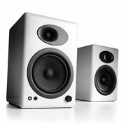 A5+ Plus Powered Speaker | Desktop Monitor Speakers Computer Wired White