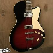 Eastwood Airline Roy Smeck Rs-i Discontinued Flame Maple Redburst