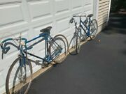 Raleigh Vintage Grand Prix Bicycles Pair 1970s His And Hers