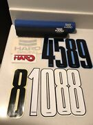Haro Pads Numbers Decal Vintage Old School Bmx Freestyle