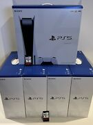 New Ps5 Console Sony Playstation 5 Blu-ray Edition - Sealed