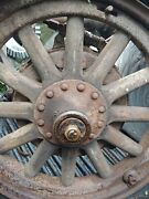Antique Wooden Spoke Wheels And Axles 1926 1927 1928 Buick Standard