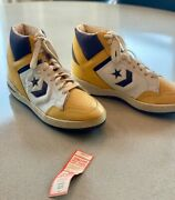 1986-87 Los Angeles Lakers Nba Champs Team Signed Converse Sneakers