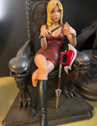 Sideshow Exclusive Buffy The Vampire Slayer Throne Maquette Statue 1 Of 400