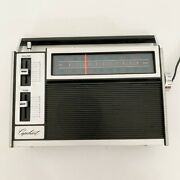 Vtg Capehart Solid State Am/fm Radio Corded Or Battery Powered See Pictures