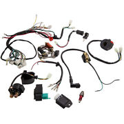 Wire Harness Stator Assembly Wiring Kit Atv Electric Quad For Honda-style Engine