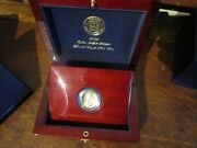 2009 Ultra High Relief Gold Double Eagle Coin W/ Book Wood Display Box And Coa