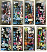 Monster High Dolls Frankie Clawdeen Spectra Lagoona Swimsuit Scaris Dead Tired